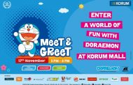 Celebrate Children's Weekend in style with Doraemon at KORUM Mall