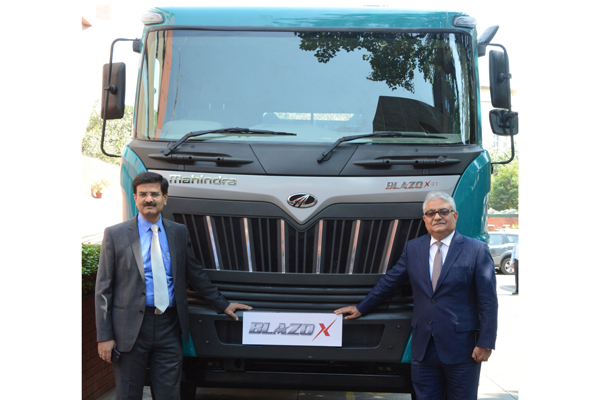 Mahindra Introduces BLAZO X Range of HCV Trucks To Address Rising Fuel Cost Woes of Transporters