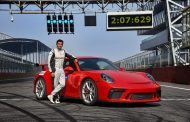 Porsche 911 GT3 sets lap record at Buddh International Circuit