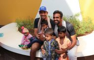 International Tennis Champions Marcelo Arevalo and Arjun Kadhe felicitate young & brave heart champions in Jupiter Hospital
