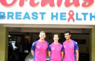 Taapsee, Pune7Aces go pink in support of breast cancer