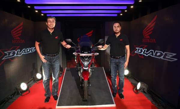 Honda 2Wheelers India launches X-Blade ABS at Rs. 87,776 (Ex-Showroom, Delhi)