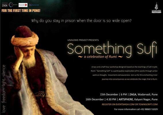 Something Sufi - A Celebration of Rumi on 15th and 16th December