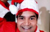 WORLD RECORD HOLDER RAJAN KUMAR 'CHARLIE' NOW AS 'SANTA CLAUS' IN MUMBAI