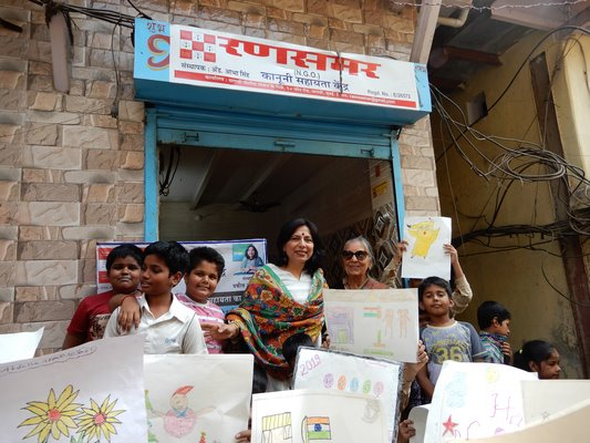 The Art Camp By Abha Singh, 100 Plus Participated