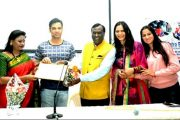 Film Actor Sudip Pandey Felicitated