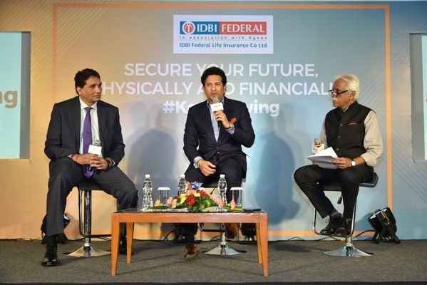 IDBI Federal Life Insurance and Sachin Tendulkar partner together to redefine the idea of Fitness for India