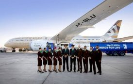ETIHAD AIRWAYS FLIES THE WORLD'S FIRST FLIGHT USING FUEL MADE IN THE UAE FROM PLANTS