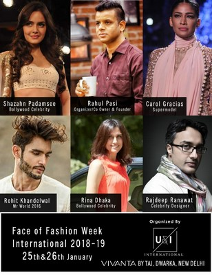 FACE OF FASHION WEEK 2018-19 ALL SET TO UNFOLD IN VIVANTA BY TAJ