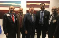 The Team of US-India Security Council Attended The  Celebratory Event For The Election Of New Jersey Senator Bob