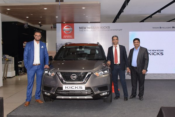 Nissan launches the new KICKS in Pune