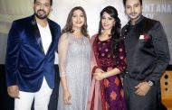 Sapna Choudhary, Vikrant Anand, Zuber Khan And Anju Jadhav At The Trailer Launch of Dosti Ke Side Effects