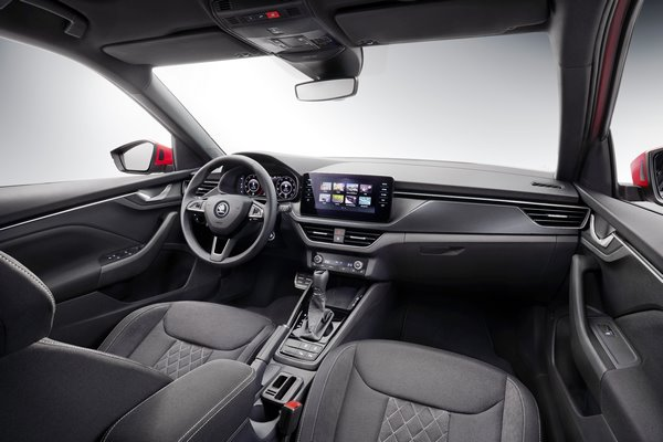 ŠKODA KAMIQ: a first look into the interior