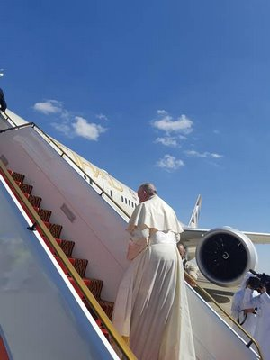 ETIHAD AIRWAYS FLIES HIS HOLINESS POPE FRANCIS HOME AFTER HISTORIC VISIT TO THE UAE