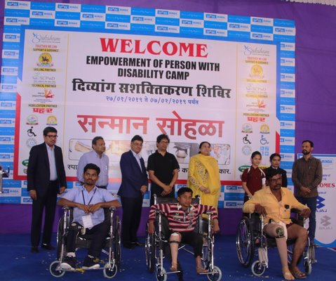 Spark Minda, Ashok Minda Group Organises 12 day Empowerment Of Persons With Disability Camp In Pune