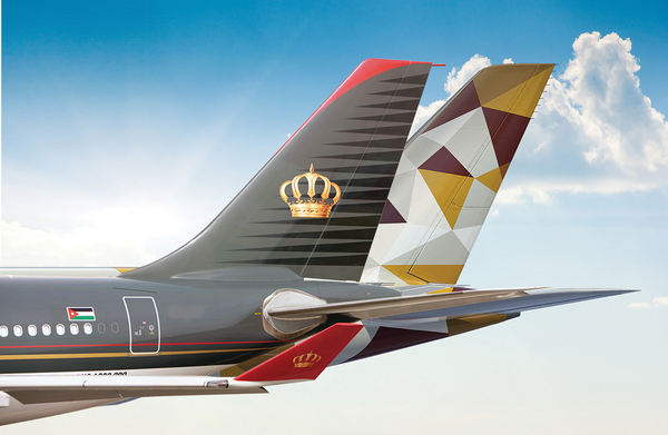ETIHAD AIRWAYS AND ROYAL JORDANIAN ANNOUNCE NEW CODESHARE PARTNERSHIP