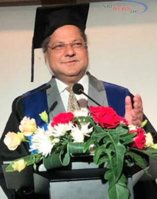 Dr. Anil Patil, gets Honorary Doctorate In Thailand