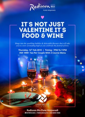 A Celebration Of Love This Valentine's Day At Radisson Blu Pune Hinjawadi
