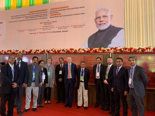 Prime Minister Shri Narendra Modi Laid Foundation Stone For Bio Refinery Project In Assam