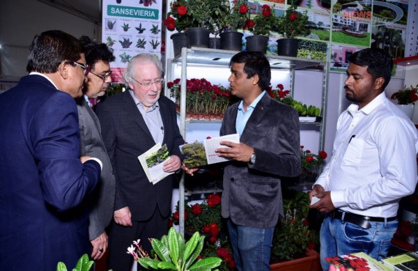 Floral, Horti And International Landscape & Gardening Expo Inaugurated Today