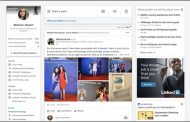 LinkedIn launches a new way to see and discuss trending news