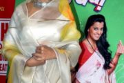 Krushna Abhishek and Mugdha Godse launched the music of comedy Hindi film Sharmaji Ki Lag Gai