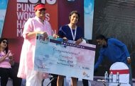 Kavitha Reddy wins the Pune Women's Half Marathon