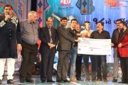 Celebs from Film and TV Industry attended 18th Transmedia Gujarati Screen and Stage Awards.