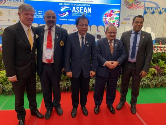 Deputy Minister of Primary Industries Malaysia addresses ASEAN Chamber of Commerce & Industry Business Meet - 2019