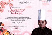 Come experience Chef Ram's Summer Inspiration at Koji, Conrad Pune