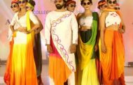 'Acme Fashion show' competition based on the theme Holi was conducted for the students