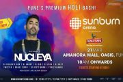 Come celebrate HOLI this year with Nucleya at Amanora Mall