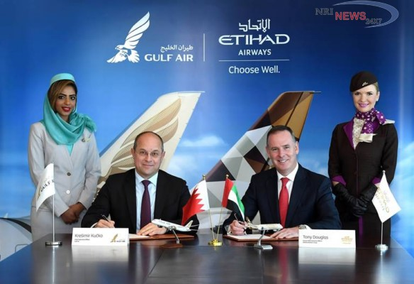 ETIHAD AIRWAYS AND GULF AIR SIGN CODESHARE AGREEMENT, STRENGTHENING TIES BETWEEN THE CARRIERS