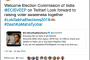 Twitter India welcomes Election Commission of India onboard the platform