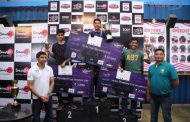 Formula One racer Narain Karthikeyan graces the finals of 'Catch me if you can tournament'