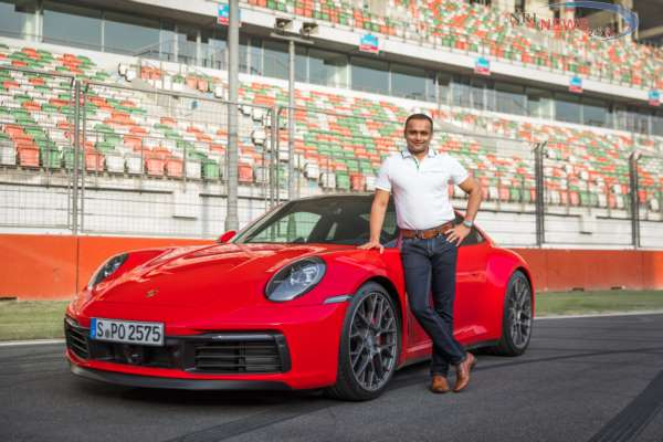 Eighth generation of Porsche's iconic sports car showcased at Buddh International Circuit