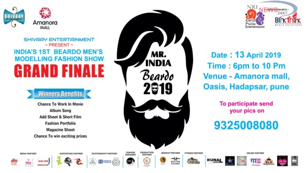 Mr. India Beardo 2019 at Amanora Mall