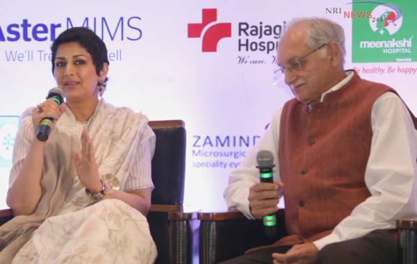 Early disease diagnosis and awareness key to quality healthcare, stresses Sonali Bendre at CAHOCON 2019