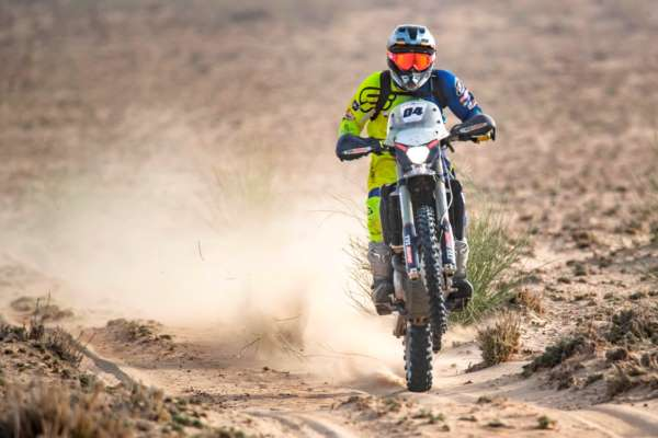 TVS Racing's Adrien Metge Conquers Marathon Stage to stay in the lead