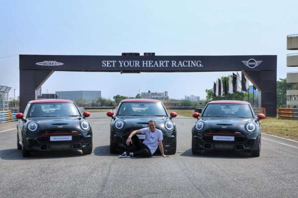 The MINI John Cooper Works Hatch launched in India