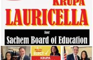 South Asian Community Leader, DILIP CHAUHAN ENDORSES KRUPA PANCHAL LAURICELLA FOR SACHEM SCHOOLS BOARD OF EDUCATION, ON MAY 21ST