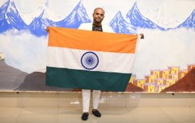 Pune's Sandeep Sinha brings glory to India - enters Guinness Records for world's largest professional oil painting