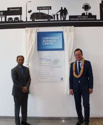Expanding swiftly across key markets, Volkswagen launches the third Corporate Business Centre (CBC) in Bengaluru