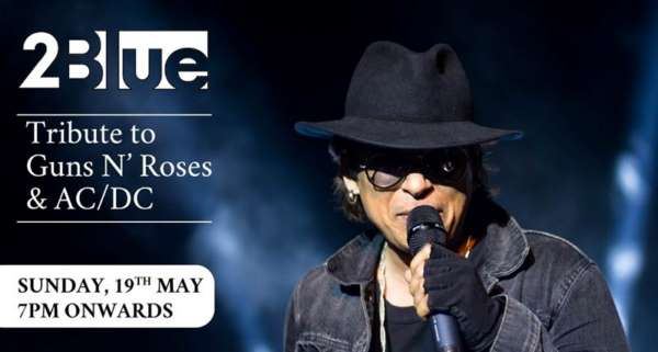 A Tribute to AC/DC and Guns N' Roses by 2Blueat Phoenix Marketcity, Pune