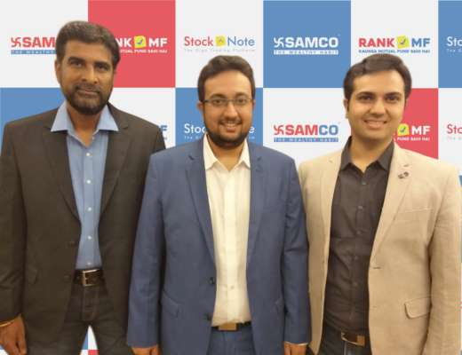 SAMCO SECURITIES LTD LAUNCHES RESEARCH, ANALYTICS AND DEVELOPMENT WING IN CHENNAI