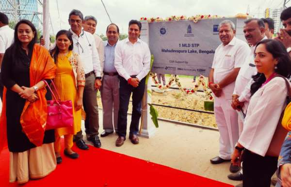 Mahadevapura Lake gets an eco-friendly Sewage Treatment Plant as part of a multi-stakeholder initiative with BBMP