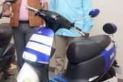 AMO Mobility Solutions launches their firstE-bike showroom in Pune