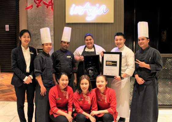 Sheraton Grand Bengaluru Whitefield Hotel & Convention Center wins the Best Regional Thai Restaurant Of The Year - South
