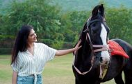ACTRESS CHARU KASHYAP'S PASSION FOR HORSE RIDDING