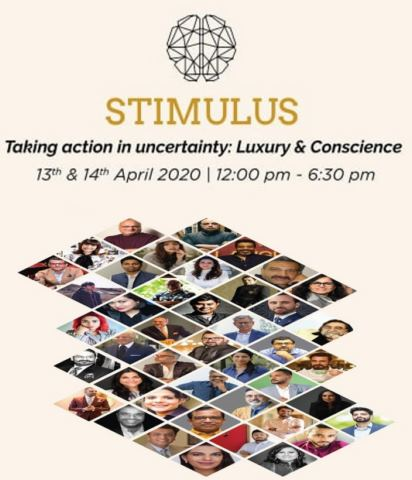 STIMULUS 2020 - a webinar with an insightful, strategic discussion on different industries during and post COVID-19